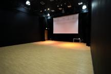 Studio/Lecture Theatre - seats away, public entrance.