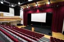 Bromley Hall - 9 metre projection screen.