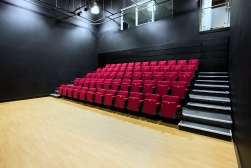 Studio/Lecture Theatre - flexible seating up to 120.
