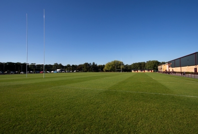 Rugby pitch.